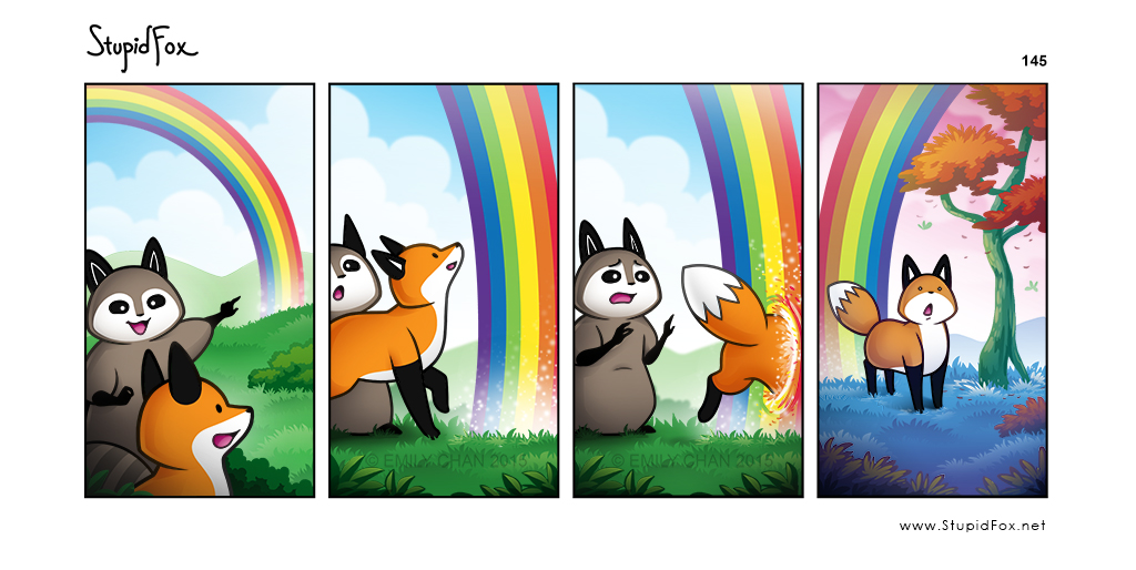 145 - End of the Rainbow stupidfox.net