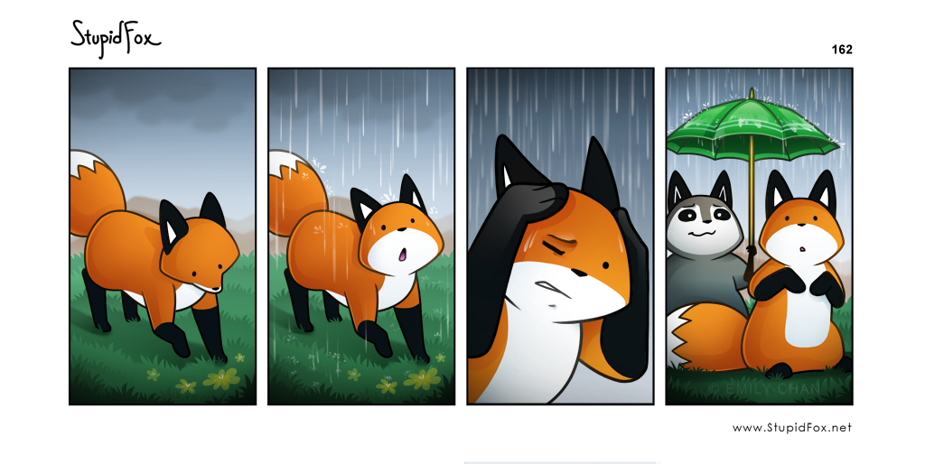 162 - Rain or Shine stupidfox.net