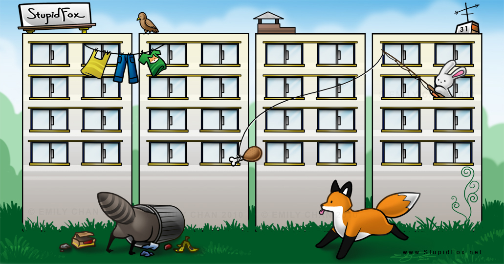 31 - Fox and the City stupidfox.net