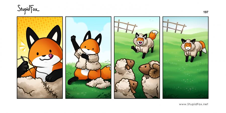 197 - Sheep stupidfox.net